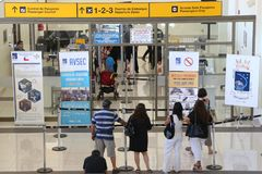 La Serena del aeropuerto imagenes de archivo