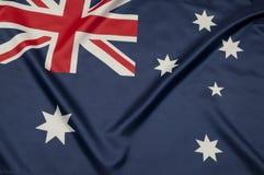 La serie australiana della bandierina Fotografie Stock Libere da Diritti