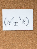 La serie de emoticons japoneses llamó Kaomoji, contenido Imágenes de archivo libres de regalías
