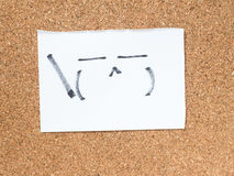 La serie de emoticons japoneses llamó Kaomoji, presumido Foto de archivo libre de regalías