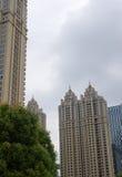 La serie di costruzione della città Immagine Stock Libera da Diritti