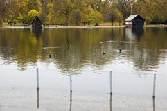 La serpentine, Hyde Park, Londres Photographie stock libre de droits