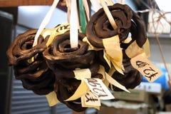 La serpiente coralina negra deseca Imágenes de archivo libres de regalías