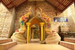 La serpiente sagrada. Imagen de archivo