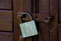 La serratura Immagine Stock Libera da Diritti