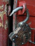 La serratura aperta Fotografia Stock Libera da Diritti
