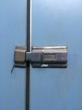 La serratura d'argento Fotografia Stock Libera da Diritti