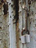 La serratura del ferro Immagine Stock Libera da Diritti