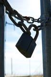 La serratura scura Fotografie Stock