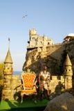 La serratura su una roccia. La Crimea, Ucraina Fotografia Stock Libera da Diritti