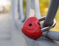 La serrure de notre amour Photographie stock