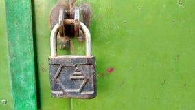 La serrure sur la porte Photo libre de droits