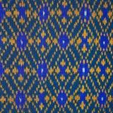 La seta tailandese variopinta handcraft la fine peruviana della superficie della coperta di stile su più questo motivo & su più b Fotografia Stock Libera da Diritti