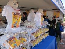 LA setzt Zeit Festivals der Bücher fest Lizenzfreie Stockfotografie