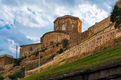 La Seu莱里达省Vella在西班牙 库存照片