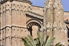 La Seu basilica,Palma de Mallorca.Spain Stock Photos