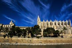 La Seu. The Cathedral La Seu in Palma de Mallorca Stock Photo