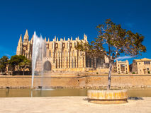 La Seu Cathedral, Palma de Mallorca Royalty Free Stock Images
