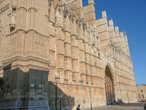La Seu cathedral in Palma De Mallorca Stock Photography