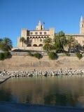 La Seu cathedral in Palma De Mallorca Royalty Free Stock Photo