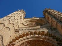 La Seu cathedral in Palma De Mallorca Stock Images