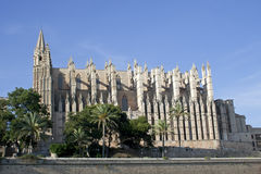La Seu Cathedral, raw Royalty Free Stock Photography