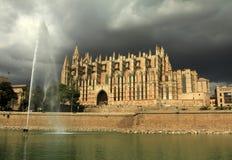 La Seu da catedral em Palma de Mallorca fotografia de stock