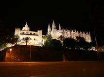 La Seu de la catedral en Palma de Mallorca Imágenes de archivo libres de regalías