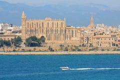 La Seu Kathedrale in Palma de Mallorca Lizenzfreie Stockfotos