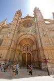 La Seu Kathedrale in Palma de Mallorca Stockfoto
