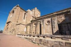 La Seu Vella cathedral in Lleida, Catalonia, Spain. Stock Images