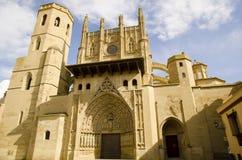 La Seu Vella Cathedral, Lleida, Catalonia, Spanien Royaltyfria Bilder