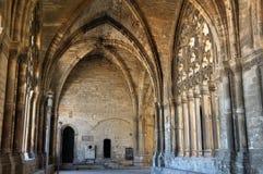 La Seu Vella Cathedral, Lleida Stock Image