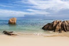La Seychelles d'île de digue Photo libre de droits