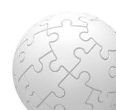 La sfera di puzzle Fotografia Stock