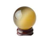 La sfera magica di cristallo Fotografie Stock