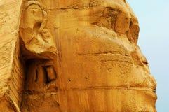 La Sfinge e le piramidi Fotografia Stock Libera da Diritti
