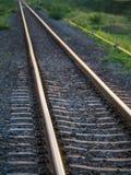 La sfuocatura della ferrovia fotografia stock libera da diritti