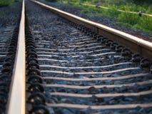 La sfuocatura della ferrovia fotografie stock libere da diritti