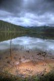 la湖shangri 图库摄影