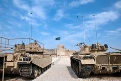 La-Shiryon de Yad. Israel Museum en las fuerzas acorazadas de Latrun. Israel. fotos de archivo
