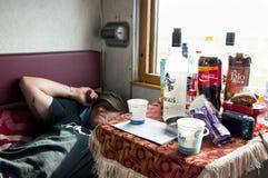 La SIBERIA, RUSSIA - 14 maggio 2012: fotografia stock libera da diritti