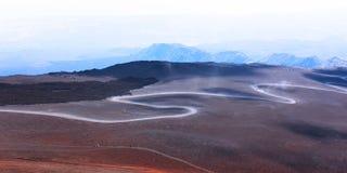 La Sicile, l'Etna Photo libre de droits