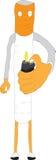 la sigaretta tiene l'accendino illustrazione vettoriale