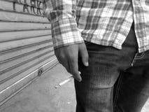 La sigaretta uccide II Fotografia Stock