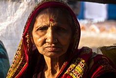 La signora anziana Fotografie Stock