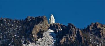 La signora del Montana delle montagne immagine stock libera da diritti