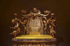 La silla del emperador imagen de archivo