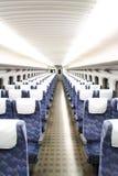 La silla del tren Imagenes de archivo