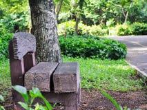 La silla grande Fotos de archivo